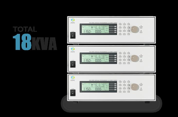 Total 18KVA output