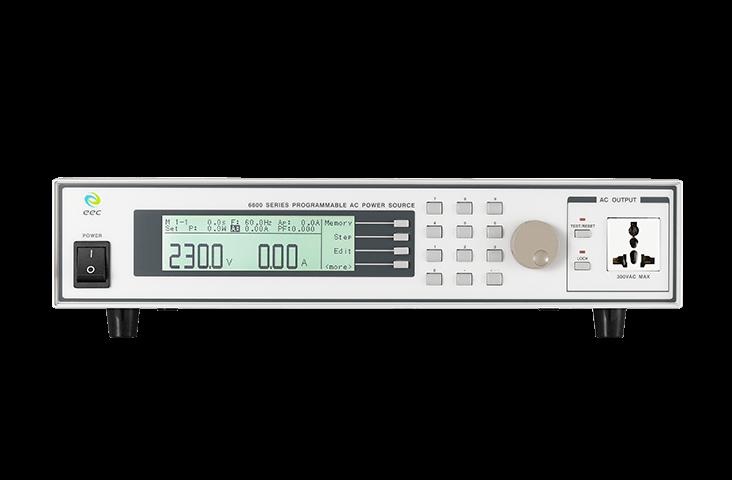 6600 Programmable AC Power Source Details