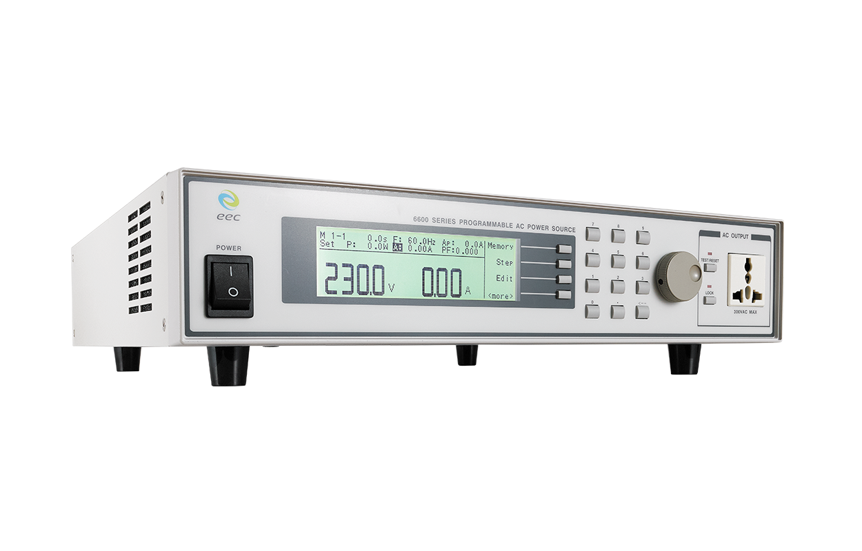 6600 Series Programmable AC Power Source