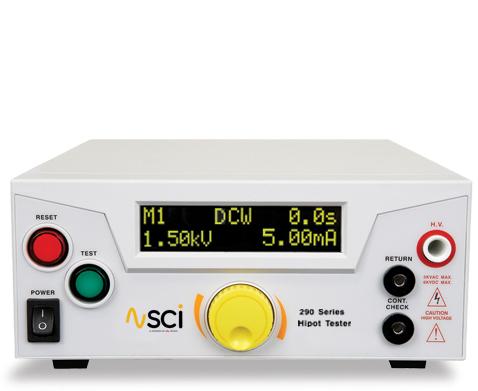 SCI 290 Series Hipot Tester